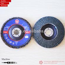 China factory of coated abrasives flap disc