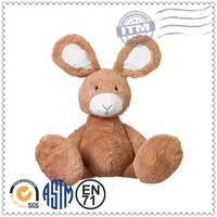 Factory customized fashion plush toy for sale stuffed cotton rabbit doll