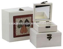 YuGuang Mini Wooden Treasure Chest