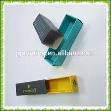 Low cost lipstick box ,lipstick match box wholesale, sliding lipstick box packaging