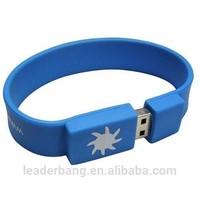 promotional 1gb silicone usb bracelet usb flash drives usb memory