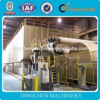 coated duplex board paper making machine, carton recycling machine for sale
