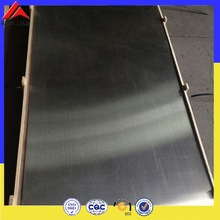 Thickness 1mm brushed nickel sheet metal