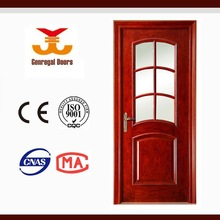 Selected Material Best Price Interior New Design Wood Veneer Door