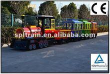 2012 Hot Sale Outdoor Amusement Park Cheap Electric Train for Kids Riding