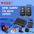 one way car alarm system with trunk open popular in Mideast & African market