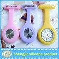 Infermiere orologio al quarzo movimento/silicone gelatina guardare per infermiere