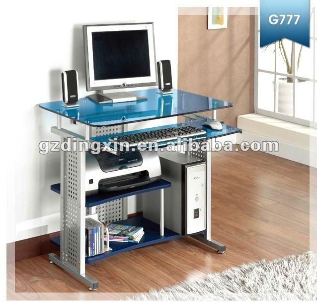 Meja komputer untuk ruang makan kaca dx 8807rb meja - Mesas para el ordenador ...