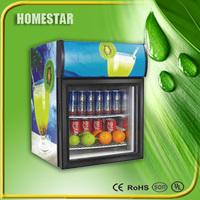 48L Chocolate Refrigerator/Beverage Cooler/Beer Showcase