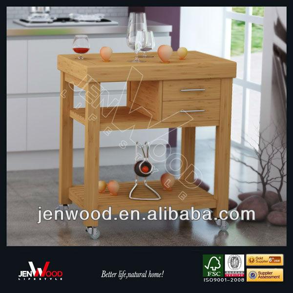 - modern_wooden_kitchen_trolley