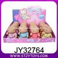Mignonnequalité loli 6 pouces. belle mini poupées reborn bébé de silicone pour la vente