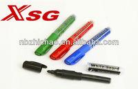 new design Liquid refiller ink whiteboard marker XSG Brand no need to push tip design pvc bag packing