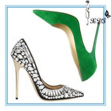 12cm pointed toe bridal women fashion shoe! High heel shoes woman 2014