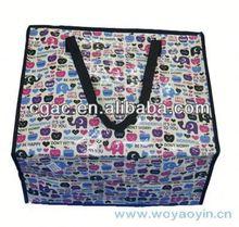 2013 new eco silver laminated non-woven tote bag