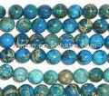 tondo blu 12mm sciolto pietra di diaspro imperiale perline blu nomi di pietre preziose