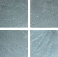 Antique green slate tile natural stone for flooring and wall panel