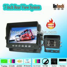 Waterproof Camera 7 inch Monitor backup camera systems for rv