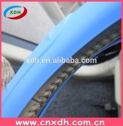 2015 car accessari alcantara steering wheel cover