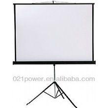 portable Tripod screen/tripod screen matte white