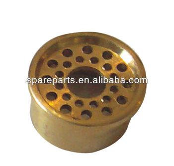 Copper burner gas stove distributor