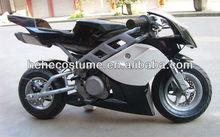 49cc 80km/hour metal high speed pocket rocket/gas motorcycle for kids