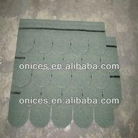 Aisan Green Fish scale fiberglass asphalt shingle