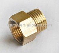 brass hexagonal nuts brass end cap brass hydraulic tube fitting/nut elbow forming machine