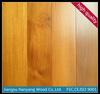 With CE, FSC, ISO certification Burma teak wood price engineered hardwood flooring