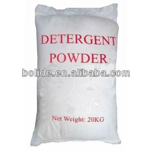 Bulk package 20kg bag detergent washing powder