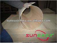 3mm,5mm,8mm elastic modulus plywood,bendy board,flexible plywood