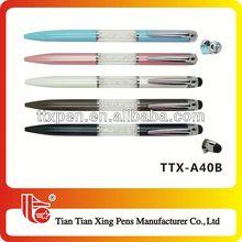TTX-A40B1 High quality luxury crystal ball pen