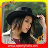 Fashion wool felt cowboy hats manufacturer Dongguan