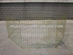 wire barrier expandable pet fence enclosure
