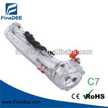 Car emergency safety hammer flashlight