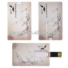 2014 cheap bulk business card usb flash drive, flash card