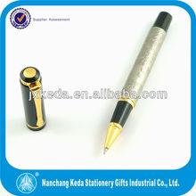 2014 promotional portable laser engraver metal 0.5mm gel pens for logo