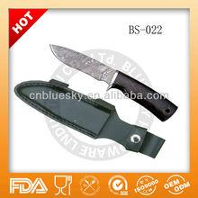 coppy damascus shape hunting knife blank