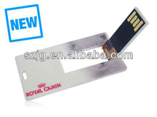 New Products Cheap Price Credit Card USB Flash Drive