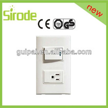 American POP Style new design electric switched socket with led