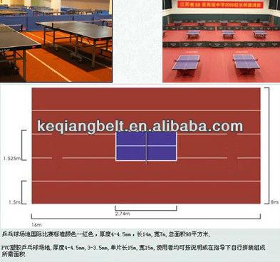 PVC Sport Flooring for Table Tennis