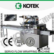 China Bakery Machinery Horizontal Flexible Packaging Flow Wrapping Automatic Pack Cookies Wrapper Pillow Wrap Machine