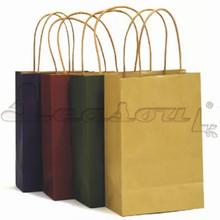 cheap paper promotional bag kraft paper bag