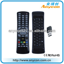 Double sided IR+RF Air Mouse Universal Smart TV Remote Control