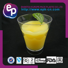 Disposable hot selling 150ml hard plastic drinking cups envrionmental ps cup safety FDA BPA Free plastic cake containers