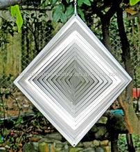 Stainless steel wind spinner- Diamond