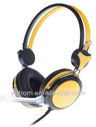 durable computer headphone with mic promotional gift