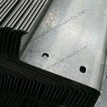 Q235 hot rolled galvanized z purlin dimensions