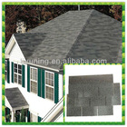 single layer roof shingle