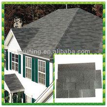 single layer roof shingle