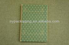 spiral notebook/The dot of spiral book/Simple spiral book